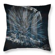 Underworld Encounter Throw Pillow by John Stephens