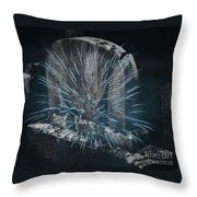 Underworld Encounter Throw Pillow by John Stephens