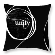 Unity  Me and You Throw Pillow by Anahi DeCanio