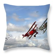 Up Sun Throw Pillow by Pat Speirs