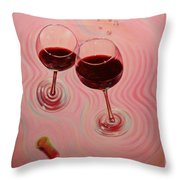 Uplifting Spirits II Throw Pillow by Sandi Whetzel