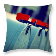 Urgent Throw Pillow by Trish Mistric