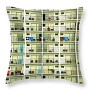 Vacation Throw Pillow by Marilyn Hunt