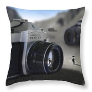 Valley Of The Fallen Throw Pillow by Mike McGlothlen