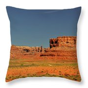 Valley Of The Gods - See What The Gods See Throw Pillow by Christine Till