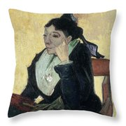 Van Gogh Larlesienne 1888 Throw Pillow by Granger