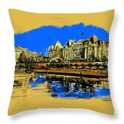 Vancouver Art 001 Throw Pillow by Catf