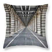 Vanishing Point Throw Pillow by Delphimages Photo Creations