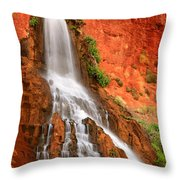 Vaseys Paradise Throw Pillow by Inge Johnsson