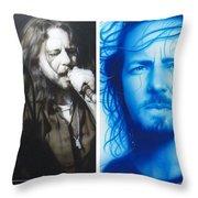 'Vedder Mosaic I' Throw Pillow by Christian Chapman Art