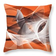 Velocity 3 Throw Pillow by Angelina Vick