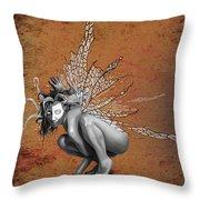 Venetian Fairy Throw Pillow by Kd Neeley