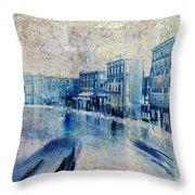 Venice Canal Grande Throw Pillow by Frank Tschakert
