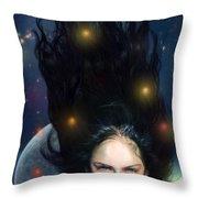 Venus Throw Pillow by Alessandro Della Pietra