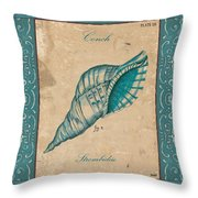 Verde Mare 2 Throw Pillow by Debbie DeWitt