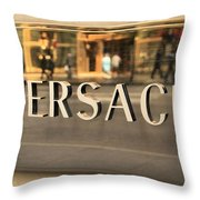 Versace Throw Pillow by Dan Sproul
