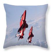 Vertical Arrows Throw Pillow by J Biggadike