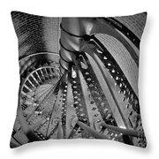 Vertigo Throw Pillow by Mark Miller