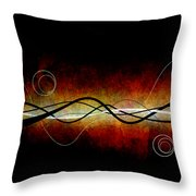 Vibe 1 Throw Pillow by Angelina Vick