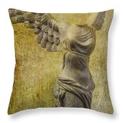 Victory Abstract Throw Pillow by Garry Gay