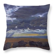 View From Spencer Throw Pillow by Thu Nguyen