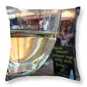 Vin Blanc Throw Pillow by France  Art
