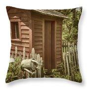 Vintage Garden Throw Pillow by Margie Hurwich