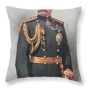 Viscount Kitchener Of Khartoum Throw Pillow by Walter Wallor Caffyn