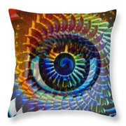 Visionary Throw Pillow by Gwyn Newcombe