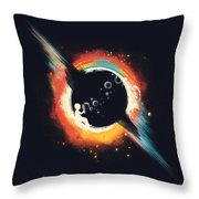 Void Throw Pillow by Budi Kwan