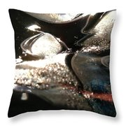 Voyage Throw Pillow by Gaby Tench