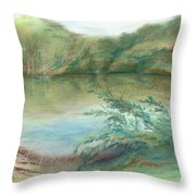 Waccamaw Dreams Throw Pillow by MM Anderson