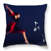 Wait For Me Throw Pillow by Stylianos Kleanthous