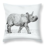 Wait Up Mom Throw Pillow by Wendy Brunell