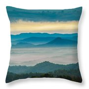 Waiting For The Sun Throw Pillow by Joye Ardyn Durham