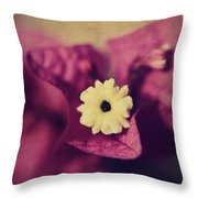 Waking Up Happy Throw Pillow by Laurie Search