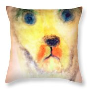 Walk With Me Throw Pillow by Hilde Widerberg