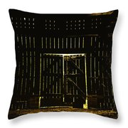 Walking Dead Throw Pillow by Andrew Paranavitana