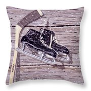Wall Of Fame Throw Pillow by Richard De Wolfe