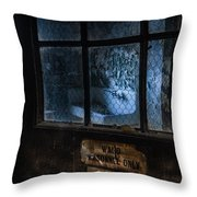 Ward Personnel Only Throw Pillow by Gary Heller