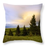 Warm The Soul Throw Pillow by Chad Dutson