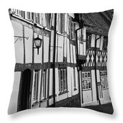 Warwick Throw Pillow by Georgia Fowler