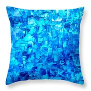 Water And Light Throw Pillow by Holly Anderson