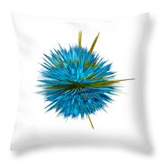 Water Explosion Throw Pillow by Kaye Menner