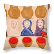 Water Into Wine Throw Pillow by Patrick J Murphy