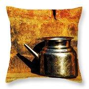 Water Vessel Throw Pillow by Prakash Ghai