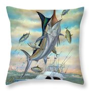 Waterman Throw Pillow by Terry Fox