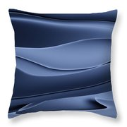 Wave Art Vi Throw Pillow by Ludek Sagi Lukac