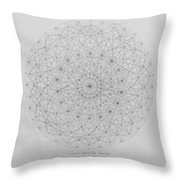 Wave Particle Duality Original Throw Pillow by Jason Padgett
