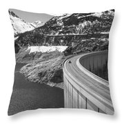 Way Up High. Throw Pillow by Clare Bambers